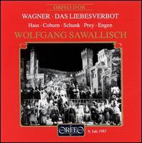 Wagner: Das Liebesverbot - Alfred Kuhn (vocals); Friedrich Lenz (vocals); Hermann Prey (vocals); Hermann Sapell (vocals); Keith Engen (vocals);...