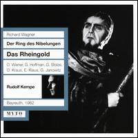 Wagner: Das Rheingold - Erich Klaus (vocals); Gerhard Stolze (vocals); Grace Hoffmann (vocals); Horst Wilhelm (vocals); Jutta Meyfarth (vocals);...