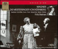 Wagner: Die Meistersinger von Nürnberg - Adolf Vogel (vocals); Erich Kunz (vocals); Erich Majkut (vocals); Frederick Guthrie (vocals); Fritz Sperlbauer (vocals);...