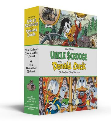 Walt Disney Uncle Scrooge and Donald Duck: The Don Rosa Library, Vols. 5 & 6: Gift Box Set - Rosa, Don, and Gerstein, David (Editor)
