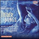 Walter Braunfels: Lieder (Songs)