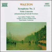 Walton: Symphony No. 2; Viola Concerto; Johannesburg Festival Overture - Lars Anders Tomter (viola); English Northern Philharmonia; Paul Daniel (conductor)