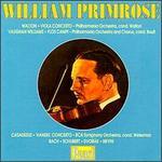 Walton: Viola Concerto; Vaughan Williams: Flos Campi; Casadesus: 'Handel' Concerto; Bach; Schubert; Dvorak; Nevin