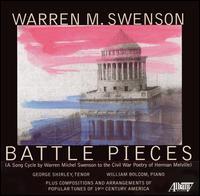 Warren M. Swenson: Battle Pieces - George Shirley (tenor); William Bolcom (piano)