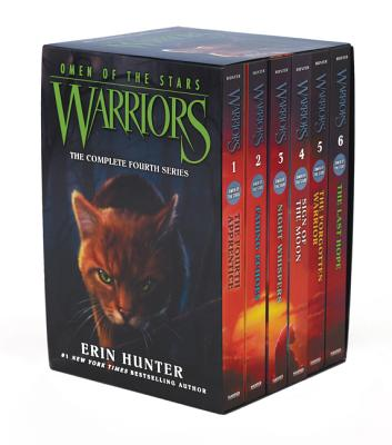 Warriors: Omen of the Stars Box Set: Volumes 1 to 6 - Hunter, Erin