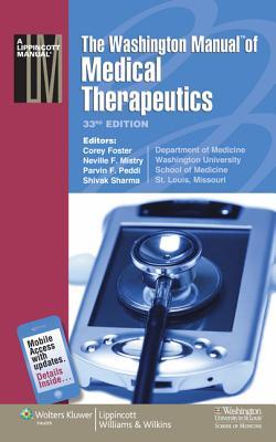 Washington Manual of Medical Therapeutics - Foster, Corey, MD