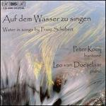 Water in Songs by Franz Schubert