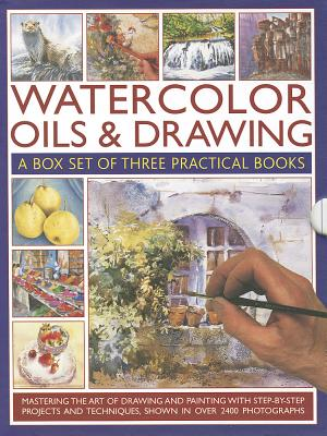 Watercolour, Oil & Drawing: A Box Set of Three Practical Books - Sidaway, Ian, and Jelbert, Wendy, and Hoggett, Sarah