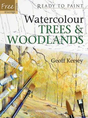 Watercolour Trees & Woodlands - Kersey, Geoff