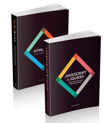 Web Design with Html, Css, JavaScript and Jquery Set - Duckett, Jon