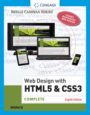 Web Design with HTML & CSS3: Complete - Minnick, Jessica