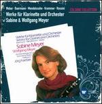 Weber, Baermann, Mendelssohn, Krommer, Rossini: Works for Clarinet & Orchestra