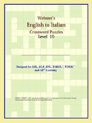 Webster's English to Italian Crossword Puzzles: Level 10 - Icon Reference