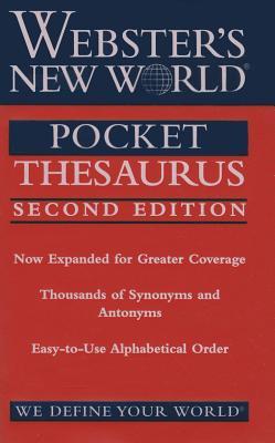 Webster's New World Pocket Thesaurus - Laird, Charlton