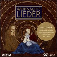 Weihnachts Lieder [Deluxe Box] [Carus] - Andreas Weller (vocals); Angelika Kirchschlager (vocals); Antal Váradi (piano); Barbara Pfeifer (viola da gamba);...