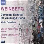 Weinberg: Complete Sonatas for Violin and Piano; Violin Sonatina