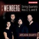 Weinberg, Vol. 1: String Quartets Nos. 2, 5, and 8