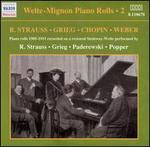 Welte-Mignon Piano Rolls, Vol. 2: R. Strauss, Grieg, Chopin, Weber