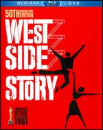 West Side Story [50th Anniversary Edition] [3 Discs] [Blu-ray/DVD] - Jerome Robbins; Robert Wise
