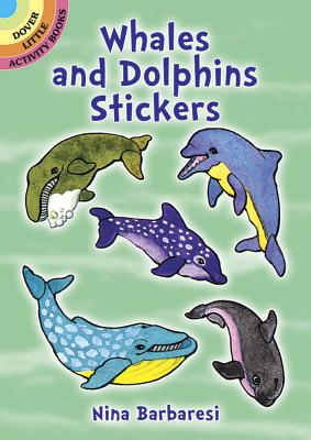 Whales and Dolphins Stickers - Barbaresi, Nina, and Stickers, and Sea Life