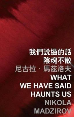 What We Have Said Haunts Us - Madzirov, Nikola