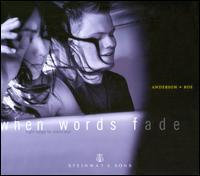 When Words Fade - Elizabeth Joy Roe (piano); Greg Anderson (piano)
