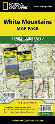 White Mountains National Forest, Map Pack Bundle - National Geographic Maps (Compiled by)