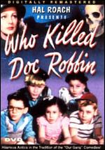 Who Killed Doc Robbin? - Bernard Carr