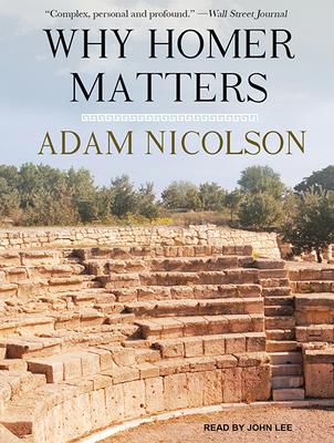 Why Homer Matters - Nicolson, Adam, and Lee, John (Narrator)