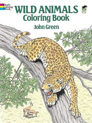 Wild Animals Coloring Book - Green, John