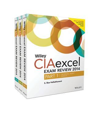 Wiley CIA Excel Exam Review 2014: Complete Set - Vallabhaneni, S. Rao