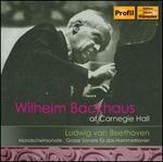Wilhelm Backhaus Live at Carnegie Hall