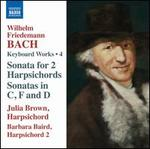 Wilhelm Friedemann Bach: Harpsichord Works, Vol. 4