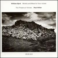 William Byrd: Motets & Mass for 4 Voices - Christopher Bowers-Broadbent (organ); Theatre of Voices