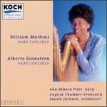 William Mathias: Harp Concerto, Op.50/Alberto Ginastera: Harp Concerto, Op.25