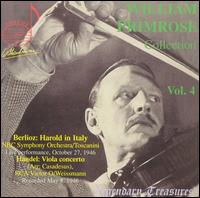 William Primrose Collection Vol. 4 - Franz Rupp (piano); William Primrose (viola)