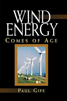 Wind Energy Comes of Age - Gipe, Paul