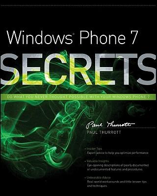 Windows Phone 7 Secrets - Thurrott, Paul