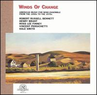 Winds of Change: American Music for Wind Ensemble from 1950s to the 1970s - Frederick L. Hemke (sax); Northwestern University Symphonic Wind Ensemble; John P. Paynter (conductor)