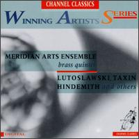 Winning Artists Series: Meridian Arts Ensemble - Benjamin Herrington (trombone); Daniel Grabois (horn); Jim Gordon (percussion); Jon Nelson (trumpet); Meridian Arts Ensemble;...