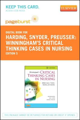 winningham and preussers critical thinking cases in nursing 5th edition
