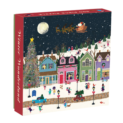 Winter Wonderland 500 Piece Puzzle - Galison