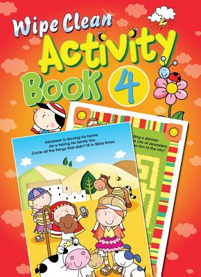 Wipe Clean Activity Book - David, Juliet