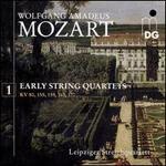 Wolfgang Amadeus Mozart: Early String Quartets, Vol. 1