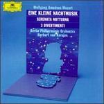 Wolfgang Amadeus Mozart: Eine Kleine Nachtmusik; Serenata Notturna; 3 Divertimenti