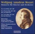 Wolfgang Amadeus Mozart: Konzerte für Klavier und Orchester