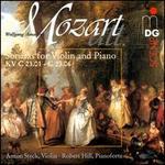 Wolfgang Amadeus Mozart: Sonatas for Violin and Piano, KV. C 23.01 - C 23.06