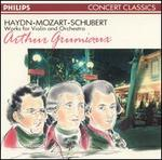 Works for Violin & Orchestra by Mozart, Haydn and Schubert