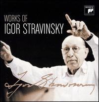 Works of Igor Stravinsky - Aaron Copland (piano); Adrienne Albert (soprano); Adrienne Albert (mezzo-soprano); Alexander Young (tenor);...