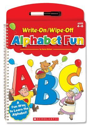 Write-On/Wipe-Off Alphabet Fun - Kama, Einhorn